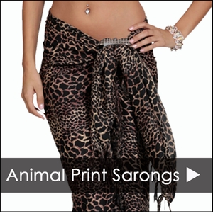 ANIMAL PRINT SARONGS