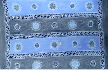Baliku Mens Sarong in Blue
