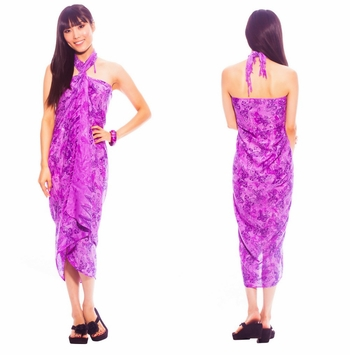 Butterfly Sarong in Purple