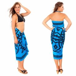 Celtic Sarong in Blue