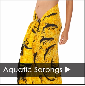 Fish Sarong Cover Up - Fish Sarongs on Sale