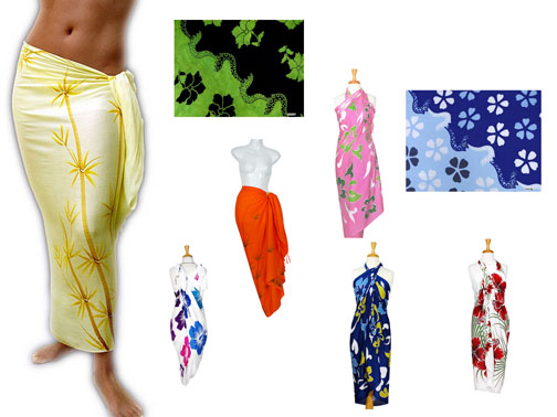 Floral Sarongs *Assorted