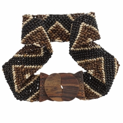 Full Coco Bead Belt-Triangle Motif