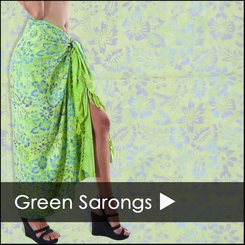 GREEN SARONGS