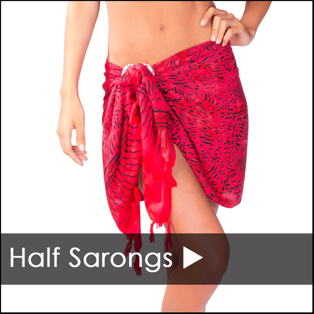 Short Sarong, Mini Sarongs and Half Sarongs