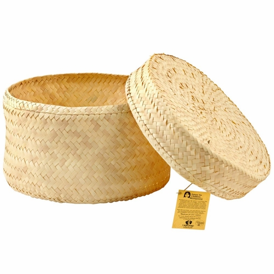 Hand Woven Hat Gift Box