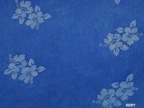 "Hibiscus Flower Mens Sarong ""Light Blue"""
