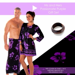 His and Hers Passionate Purple Gift Set