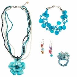 Jewelry Set in Turquoise
