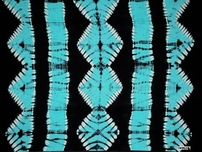 Jungle Baby Blue PLUS SIZE Tie Dye Mens Sarong