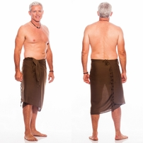 Light Brown Mens Sarong