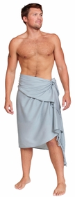 Light Grey Mens Sarong