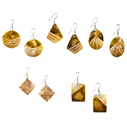 Set of 3 Shell Earrings - Assorted
