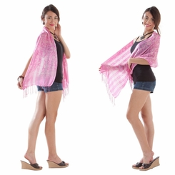 Silk Scarf in Pink
