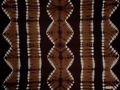 "Tie Dye Mens Sarong ""Jungle Brown"""