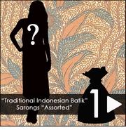 """Traditional Indonesian Batik"" Sarongs *Assorted"