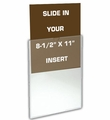 Wall Mount Enclosed Sign Frames