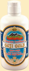 100% Pure Goji Juice Gold (Lycium Barbarum) by Dynamic Health Laboratories - 32oz.
