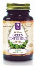 100% Pure Green Coffee Bean Extract by Genesis Today - 60 Vegetarian Capsules