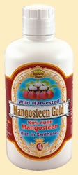 100% Pure Mangosteen Juice Gold by Dynamic Health Laboratories - 32 oz.
