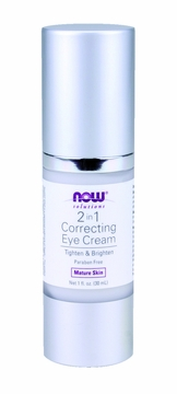 Now Foods 2 in 1 Correcting Eye Cream - 1 Fluid Ounce