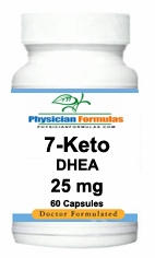 7-Keto DHEA 25mg by Advance Physician Formulas - 60 Softgels