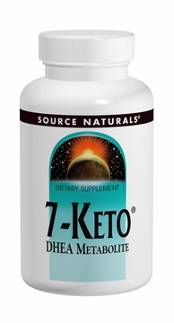 Source Naturals 7-Keto DHEA Metabolite 100 mg - 60 Tablets