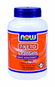 Now Foods 7-KETO LeanGels 100 mg - 120 Softgels