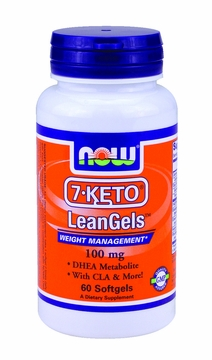 Now Foods 7-KETO LeanGels 100 mg - 60 Softgels