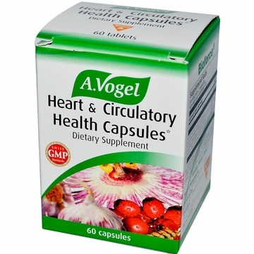 A.Vogel Heart and Circulatory Health by Bioforce USA - 60 Capsules