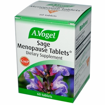 A.Vogel Sage Menopause Tablets by Bioforce USA - 60 Tablets