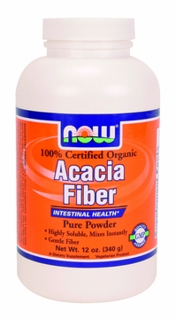 Now Foods Acacia Fiber Organic Powder - 12 Ounces