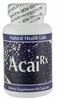 Acai Rx (Acai Extract) by Natural Health Labs - 90 Capsules