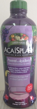 Acai Splash Mixed Berry Drink by Garden Greens - 30oz.