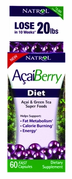 AcaiBerry Diet by Natrol - 60 Capsules
