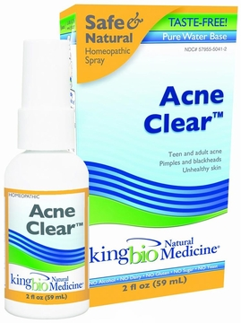 Acne Clear by King Bio - 2oz.