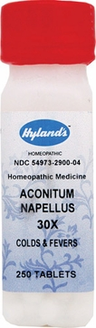 Aconitum Napellus 30X by Hylands - 250 Tablets