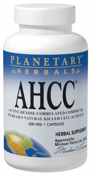 Planetary Herbals AHCC Powder - 2 Ounces