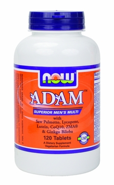 Now Foods ADAM Superior Men's Multiple Vitamin - 120 Tablets