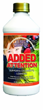 Added Attention Children's Concentration Formula by Buried Treasure - 16oz.