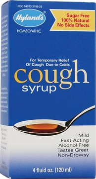 Adult Cough Syrup by Hylands - 4oz.