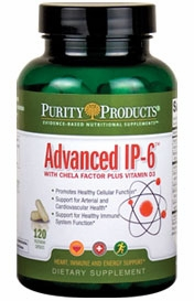 Advanced IP-6 with Chela-Factor Plus Vitamin D by Purity Products - 120 Capsules