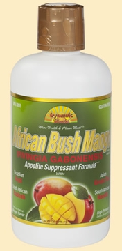 African Bush Mango Juice Blend Irvingia Gabonensis by Dynamic Health Laboratories - 32 oz.