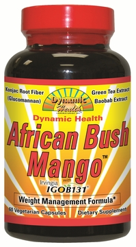African Bush Mango with Irvingia IGOB131 by Dynamic Health Laboratories - 60 Vegetarian Capsules