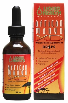 African Mango XD Drops by Liquid Health - 59 ml