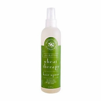 Alcohol Free Wheat Therapy Hair Spray by Honeybee Gardens - 8.5oz.