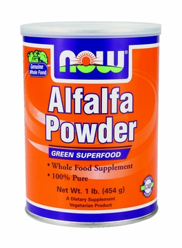 Now Foods Alfalfa Powder - 1 Pound