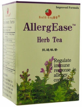 Health King Enterprise and Balanceuticals AllergEase Herb Tea - 20 Tea Bags