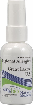 Allergy Correction Great Lakes US by King Bio - 2oz.
