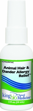 Allergy Detox Animal Hair and Dander by King Bio - 2oz.